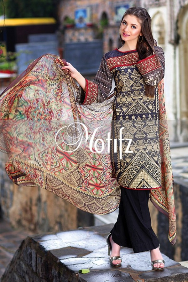 Motifz Summer Embroidered Lawn Dresses Collection 2016-2017 (14)