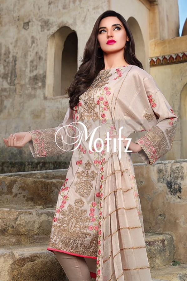 Motifz Summer Embroidered Lawn Dresses Collection 2016-2017 (15)