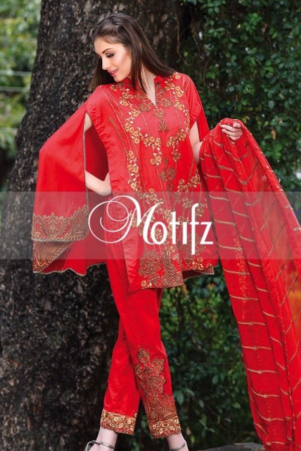 Motifz Summer Embroidered Lawn Dresses Collection 2016-2017 (16)