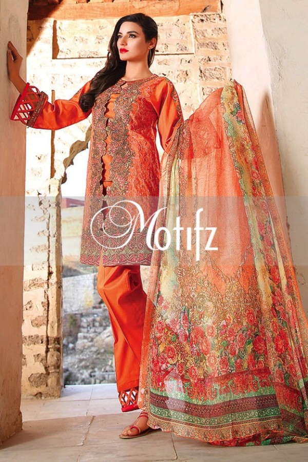 Motifz Summer Embroidered Lawn Dresses Collection 2016-2017 (17)