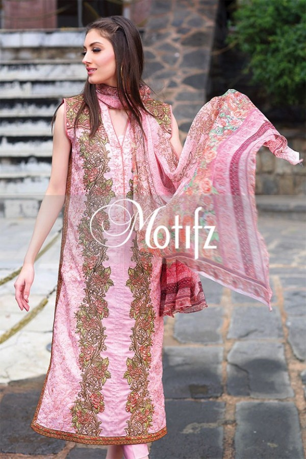 Motifz Summer Embroidered Lawn Dresses Collection 2016-2017 (18)