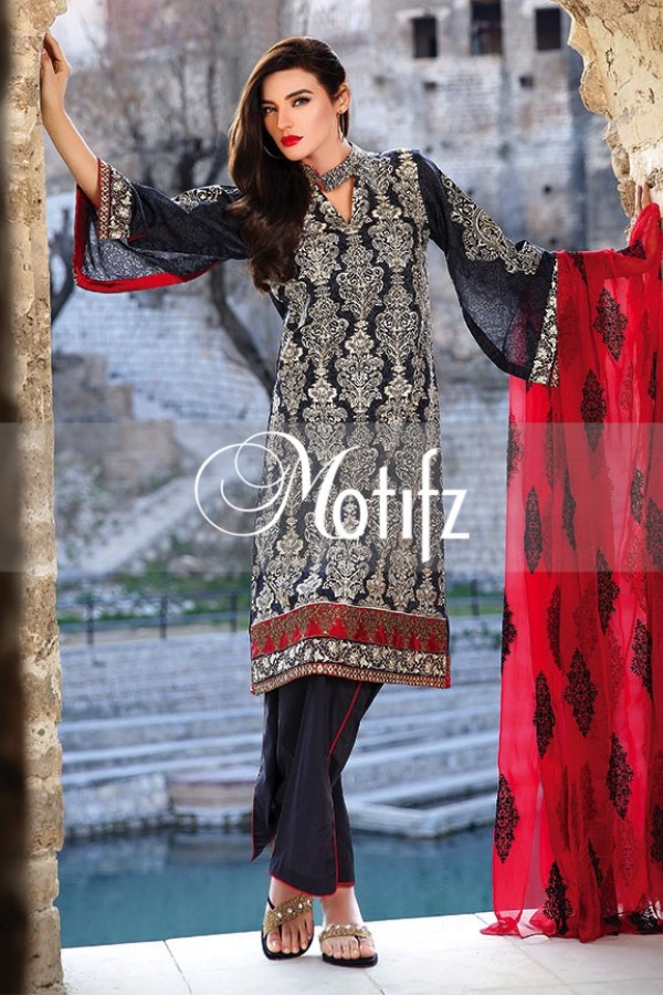 Motifz Summer Embroidered Lawn Dresses Collection 2016-2017 (20)