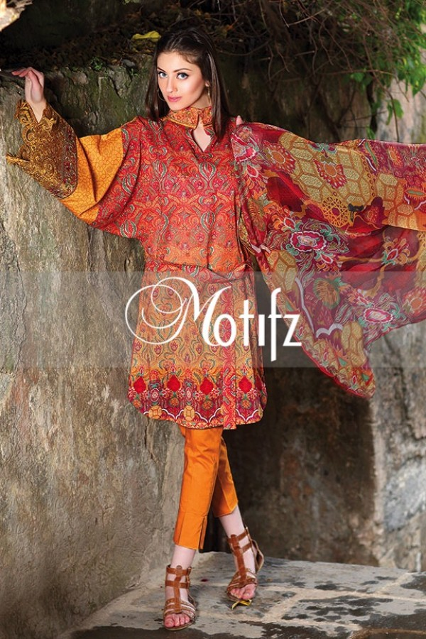Motifz Summer Embroidered Lawn Dresses Collection 2016-2017 (21)