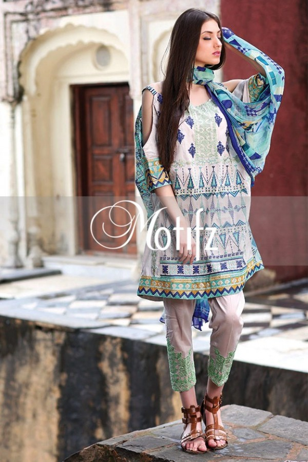Motifz Summer Embroidered Lawn Dresses Collection 2016-2017 (27)