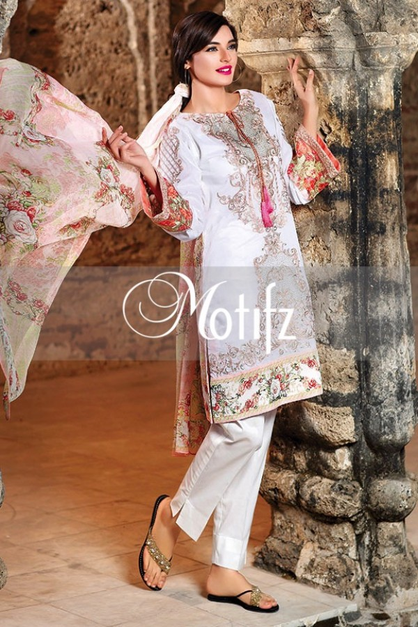 Motifz Summer Embroidered Lawn Dresses Collection 2016-2017 (29)