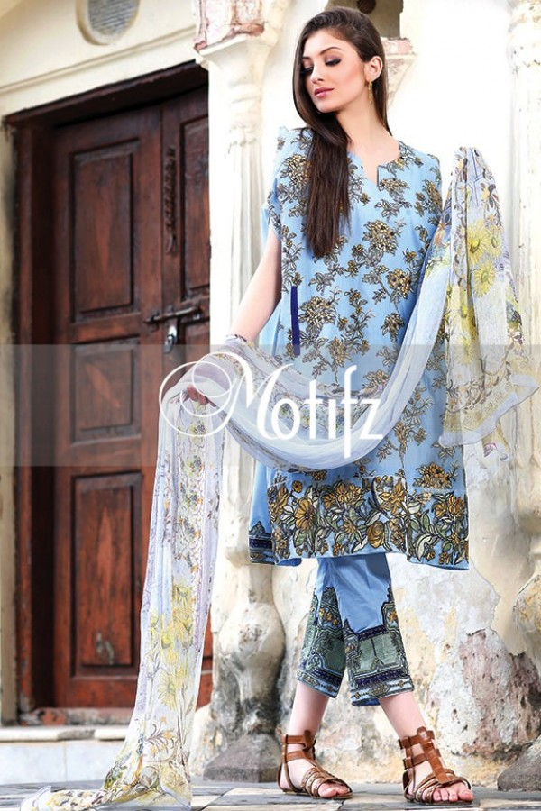 Motifz Summer Embroidered Lawn Dresses Collection 2016-2017 (30)