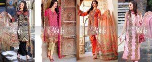 Motifz Summer Embroidered Lawn Dresses 2016-2017 for Women