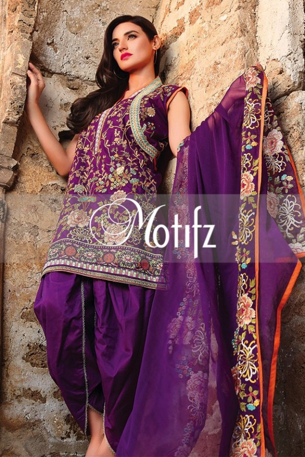 Motifz Summer Embroidered Lawn Dresses Collection 2016-2017 (32)