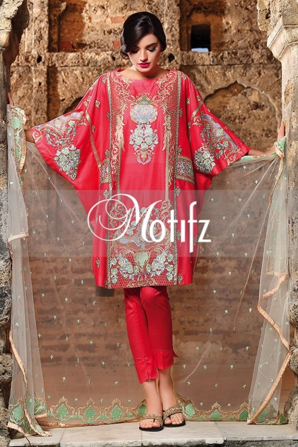 Motifz Summer Embroidered Lawn Dresses Collection 2016-2017 (8)