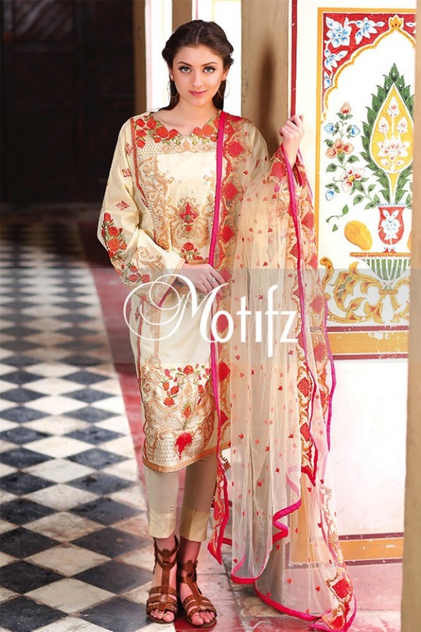 Motifz Summer Embroidered Lawn Dresses Collection 2016-2017 (9)