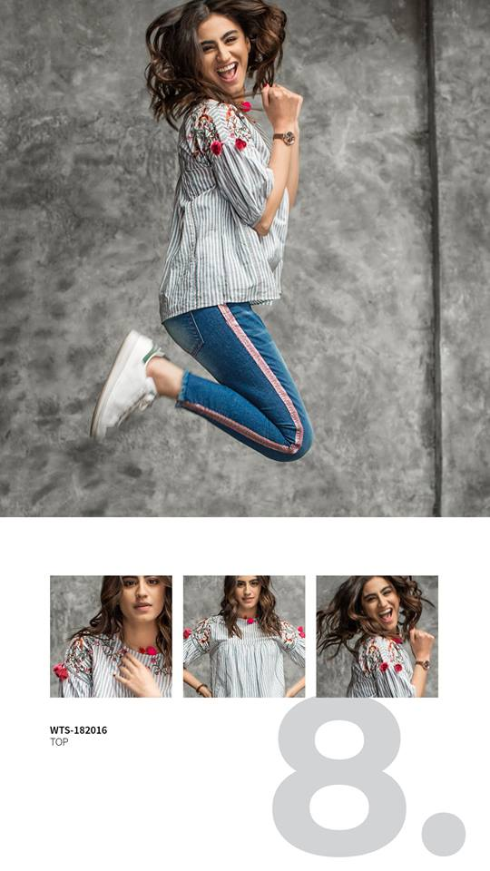 Latest Outfitters Western Style Dresses Summer Collection 2018-2019