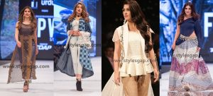 Best Dressed Famous Pakistani Celebrities in FPW 2016-17 as Showstoppers