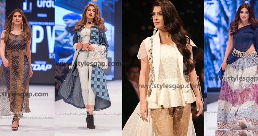 Popular Pakistani Celebrities as Showstopper in fashion week Pakistan 2016-2017