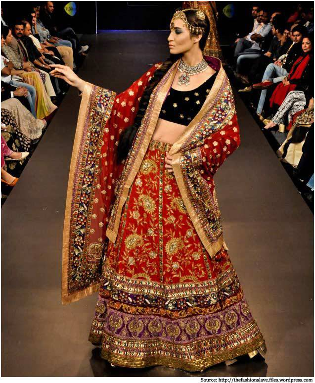 ritu kumar indian bridal dresses collection 3