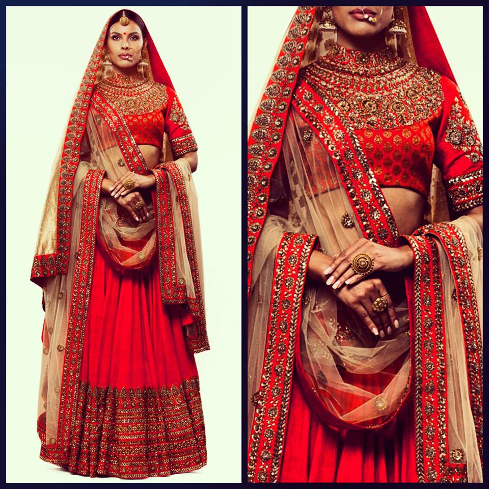 SABYASACHI MUKHERJEE INDIAN BRIDAL DRESSES COLLECTION (2)