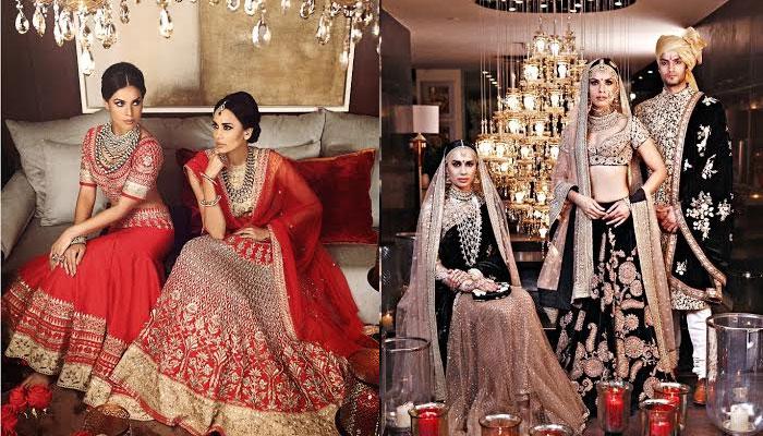 SABYASACHI MUKHERJEE INDIAN BRIDAL DRESSES COLLECTION (3)