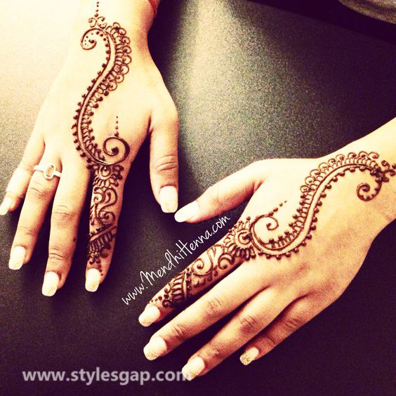 Simple & Easy Eid Mehndi Designs 2016-2017 Latest Collection (10)