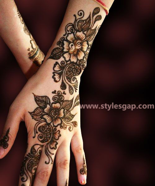 Simple & Easy Eid Mehndi Designs 2016-2017 Latest Collection (13)