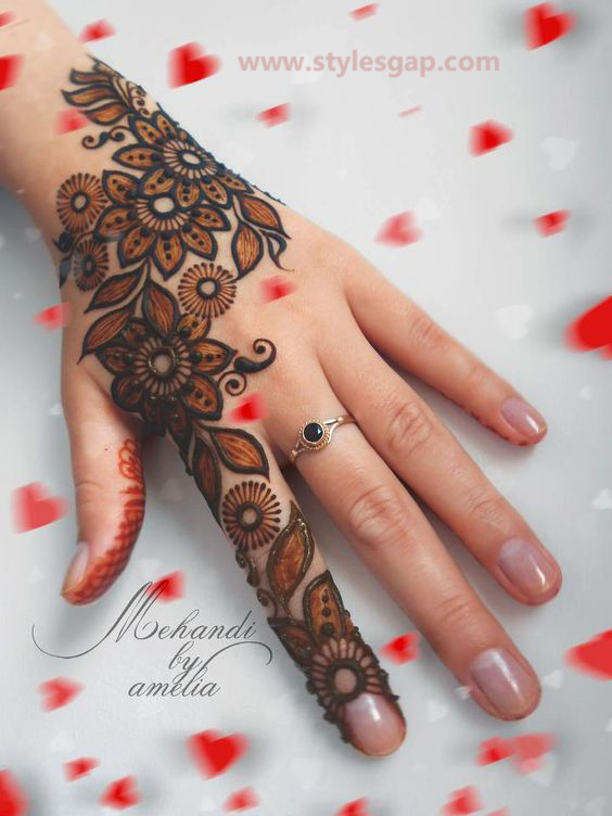 Simple & Easy Eid Mehndi Designs 2016-2017 Latest Collection (14)