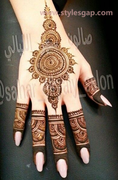 Simple & Easy Eid Mehndi Designs 2016-2017 Latest Collection (15)