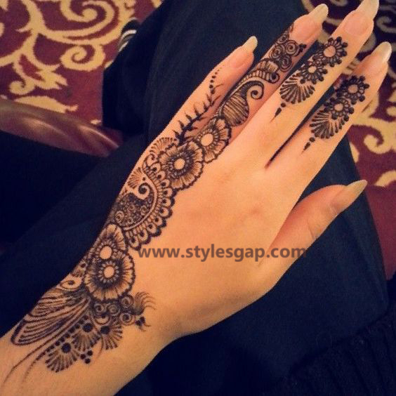 Simple & Easy Eid Mehndi Designs 2016-2017 Latest Collection (2)