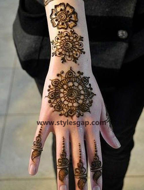 Simple & Easy Eid Mehndi Designs 2016-2017 Latest Collection (30)