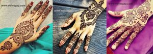 Simple Easy Eid Mehndi Designs 2017-2018 Latest Collection