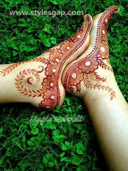Simple & Easy Eid Mehndi Designs 2016-2017 Latest Collection (5)