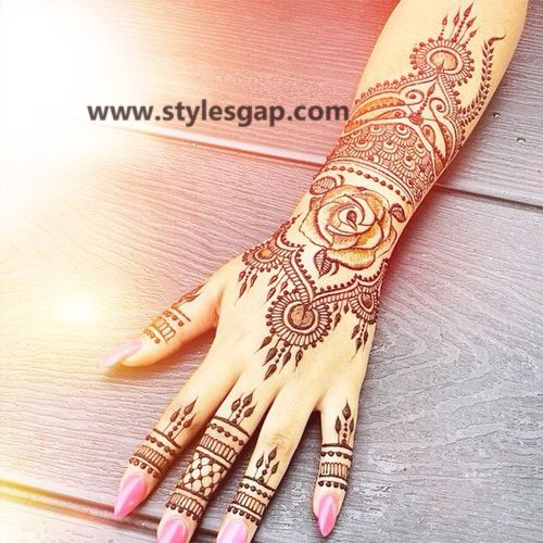 Simple & Easy Eid Mehndi Designs 2016-2017 Latest Collection (9)