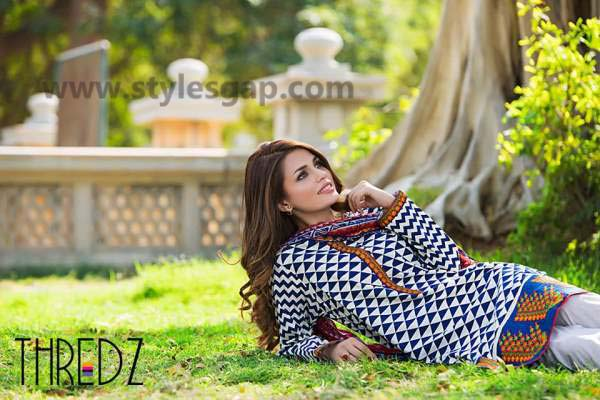 Threadz Printed & Embroidered Tunics Designs Collection 2016-2017 (2)