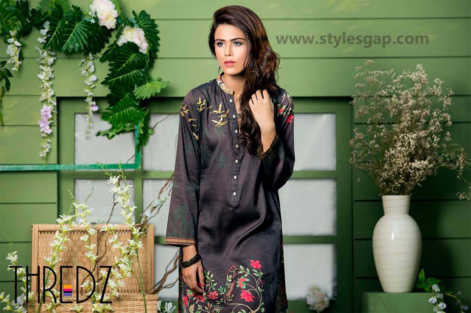 Threadz Printed & Embroidered Tunics Designs Collection 2016-2017 (7)
