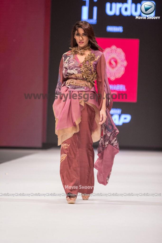 ZALAY SARHADI- Showstopper in fashion week Pakistan 2016-2017 (2)