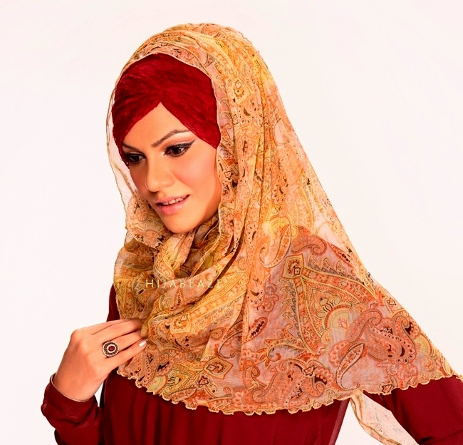 pleated-latest hijab styles