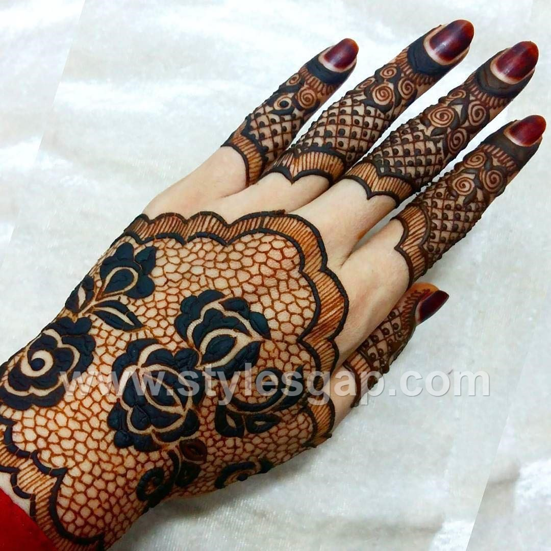 Latest Arabic Mehndi Designs Henna Trends 20172018 Collection