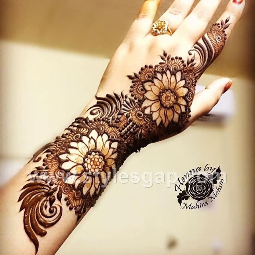 latest arabic mehndi designs henna trends 20182019 collection