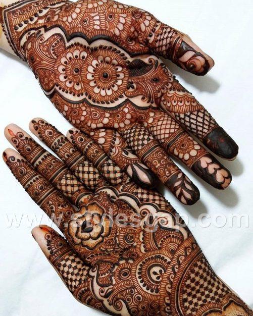 Mehndi Front Design 2019 : Latest arabic mehndi designs henna trends  collection
