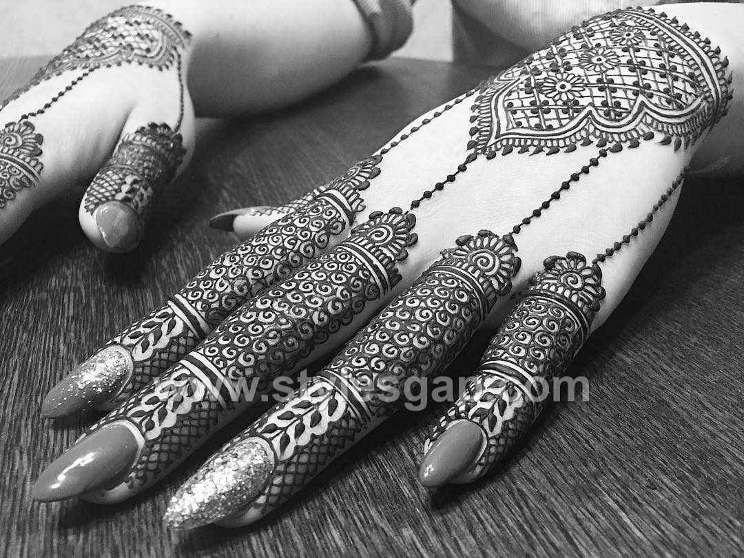 Mehndi Designs Hands Arabic Latest : Latest arabic mehndi designs henna trends  collection