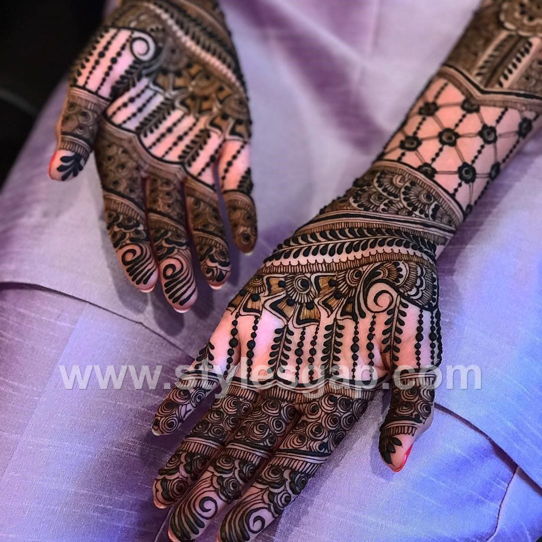 Mehndi Designs 2018 : Latest arabic mehndi designs henna trends  collection