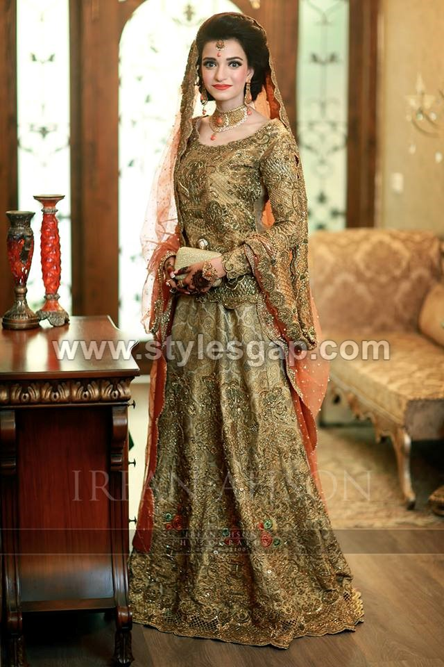 Latest Beautiful Walima Bridal Dresses Collection 2017-18 for Weddings