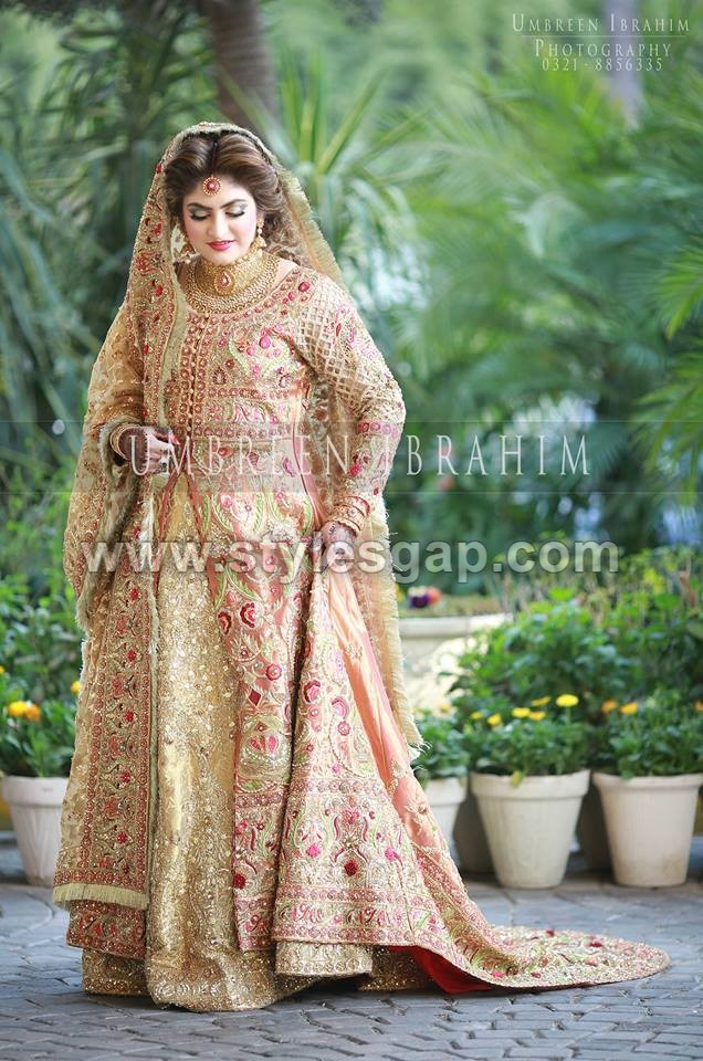latest beautiful walima bridal dresses collection 201920