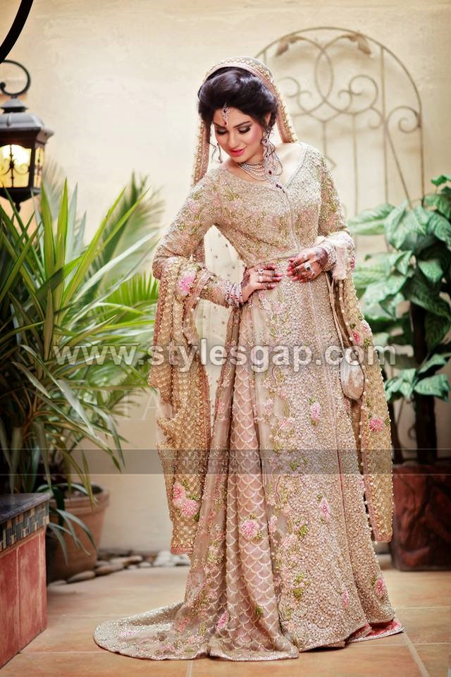 Latest Beautiful Walima Bridal Dresses Collection 2019 20 For Weddings