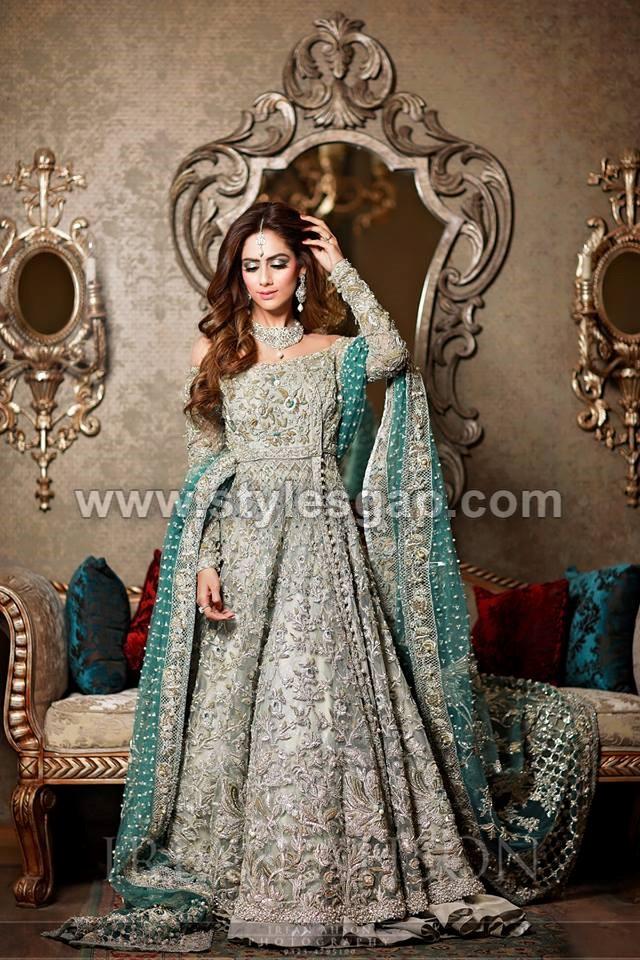 Latest Beautiful Walima Bridal Dresses Collection 2018 2019 For