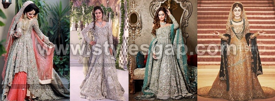 5dc2a5e5b5b62 Latest Beautiful Walima Bridal Dresses Collection 2019 for Wedding Bridals