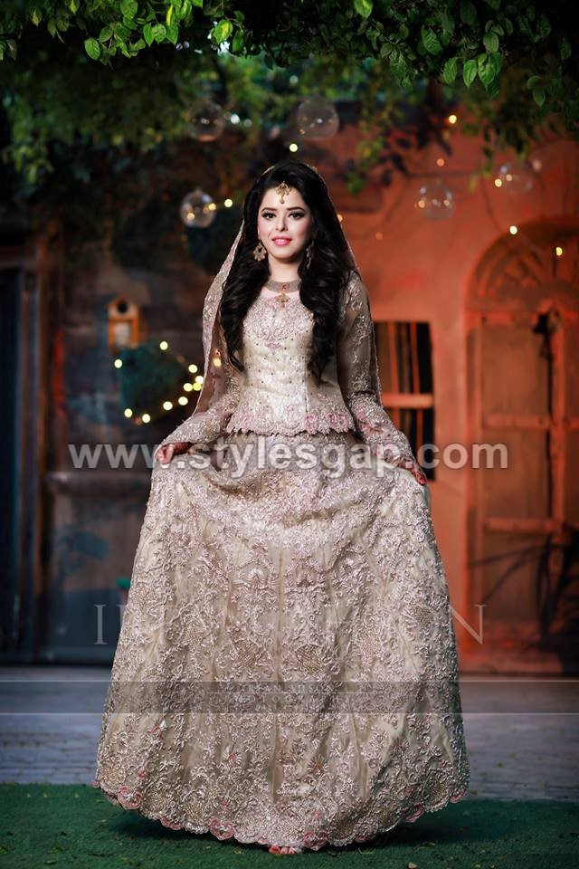 latest beautiful walima bridal dresses collection 201819
