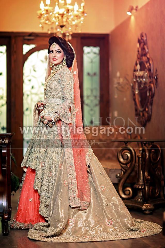 Latest Beautiful Walima Bridal Dresses Collection 2018-19 for Weddings