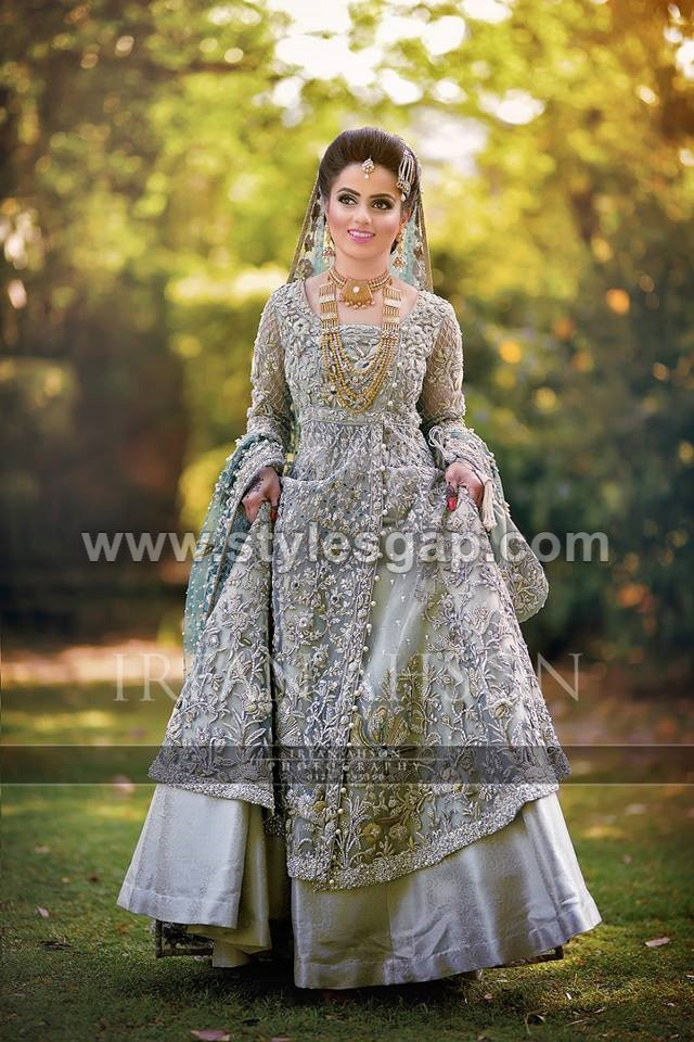 Latest beautiful walima bridal dresses collection 2018 19 for Cheap pakistani wedding dresses