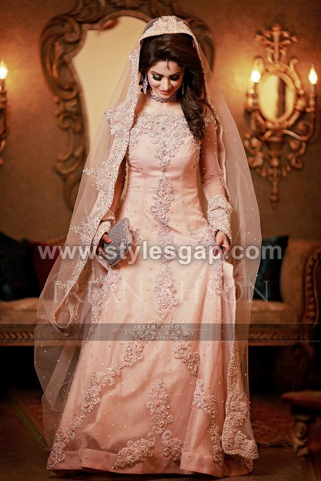 "f0354e3223 This article includes all the styles and colors of dresses trending this  season and reflecting its title, ""Beautiful Walima Dresses for Bridals."