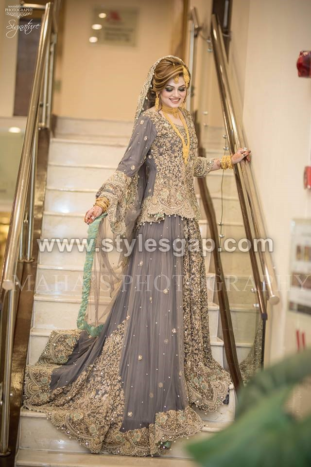 Latest Beautiful Walima Bridal Dresses Collection 2017 18 For Weddings