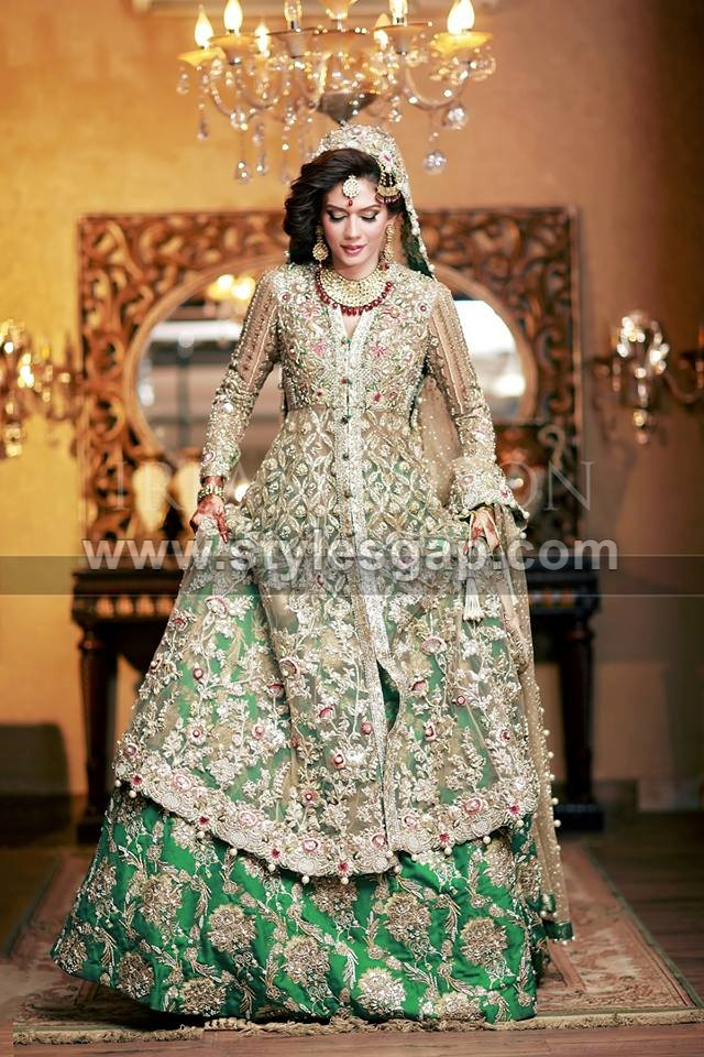 Latest Beautiful Walima Bridal Dresses Collection 2020 21