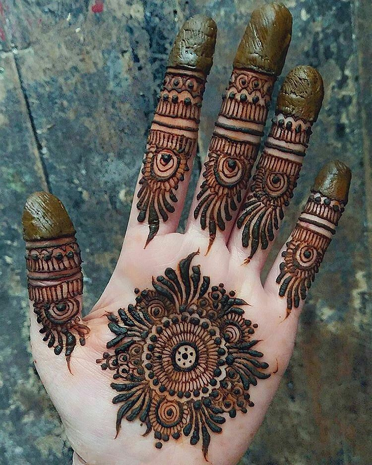 Latest & Best Eid Mehndi Designs (10)